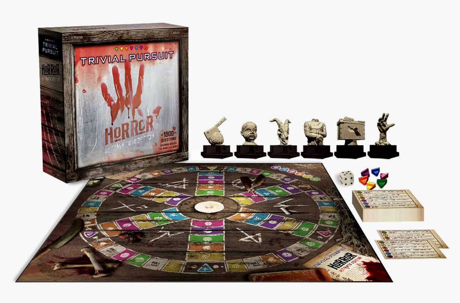 Scariest Games: Trivial Pursuit Ultimate Horror Edition