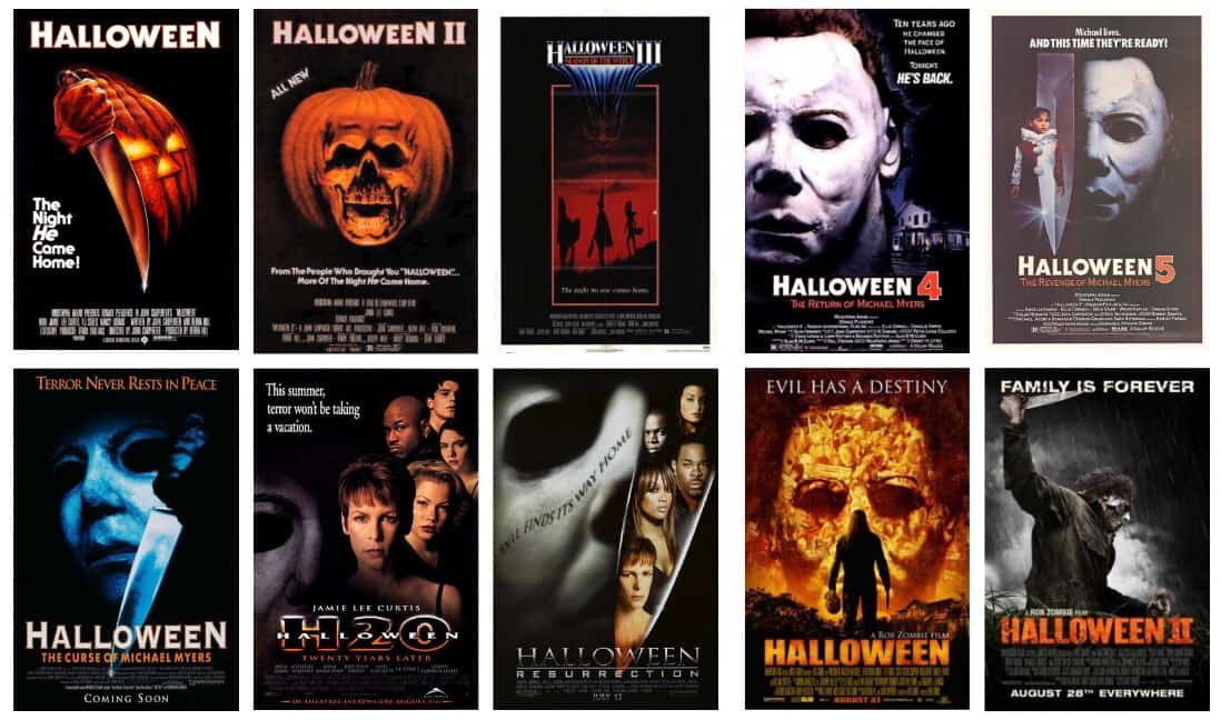 The Scariest Things Podcast Episode LCXVIII: Ranking the Films in Our Favorite Franchises