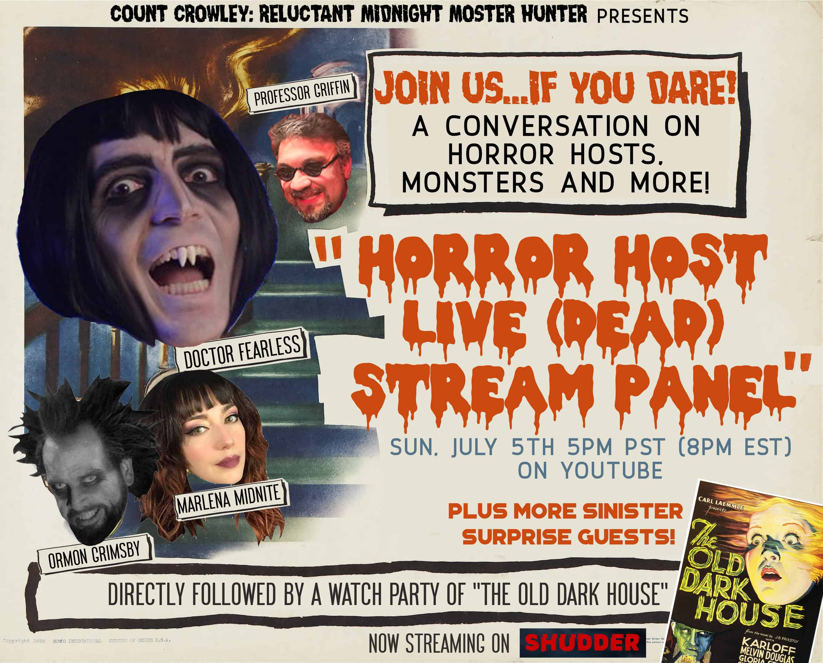 Horror News: Horror Host Live (Dead) Stream Panel!