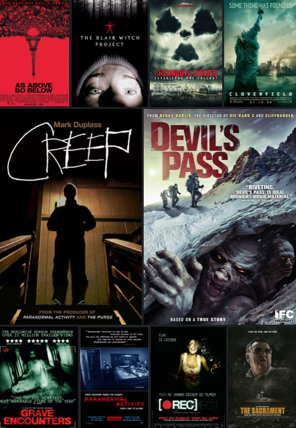 Dead List: Top 10 Found Footage Films of All Time