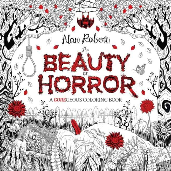 Liz's Book Report: The Beauty of Horror Coloring Book Series
