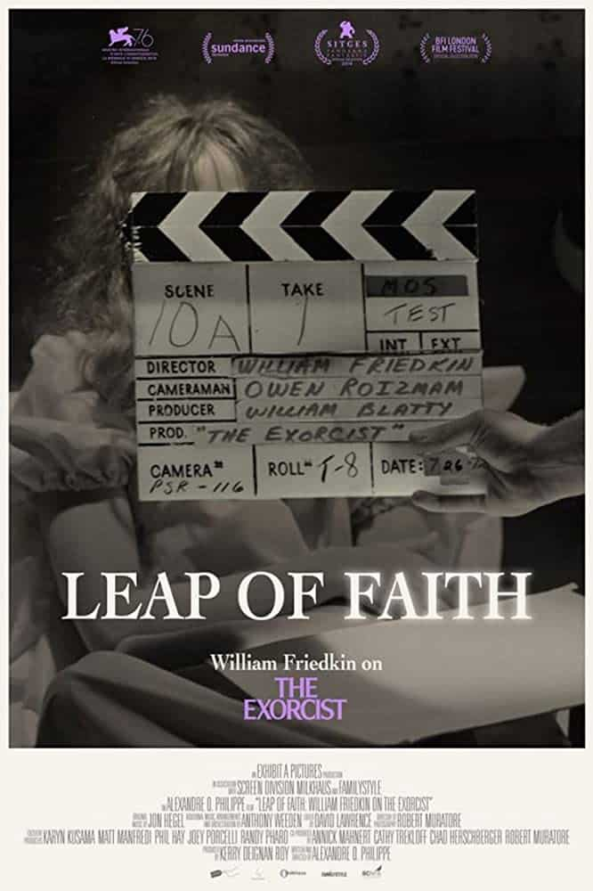Mike's Nightstream Review: Leap of Faith William Friedkin on the Exorcist (2020)