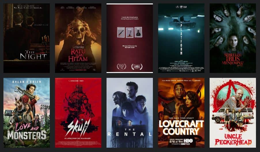 Eric's Top 10 Horror Films of 2020