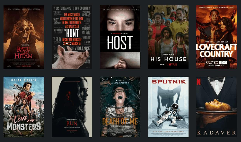 Robert's Top 10 Horror Films of 2020